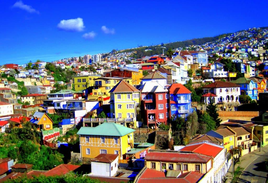 Viagem de carro de Viña del Mar à Valparaíso