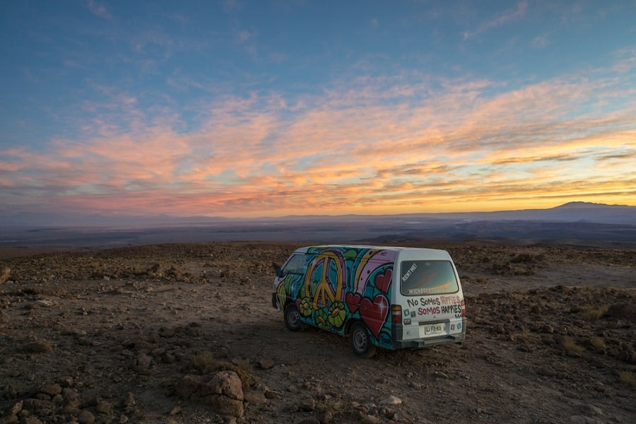 Aluguel de carro em San Pedro de Atacama