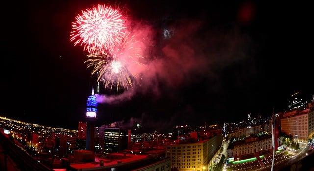 Ano novo em Santiago do Chile