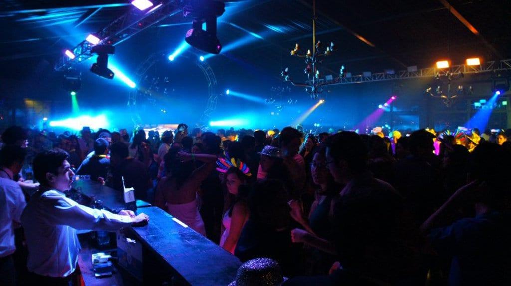 Baladas no Ano Novo em Santiago do Chile