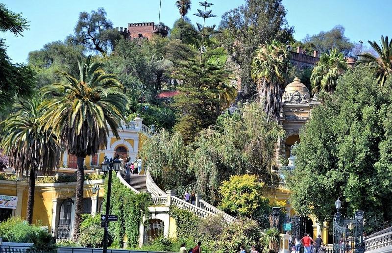Cerro Santa Lúcia - Santiago