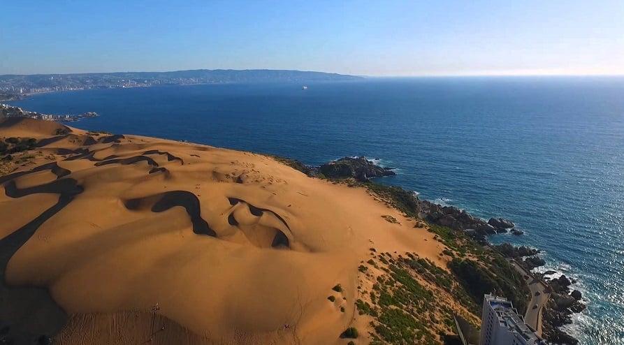 Visitar as Dunas de Concon no verão em Viña del Mar