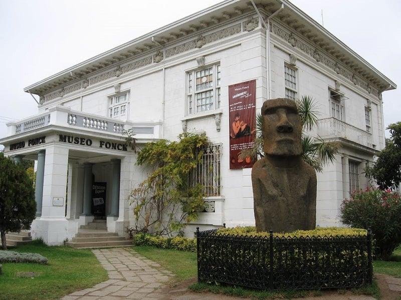 Visitar os museus no inverno em Viña del Mar