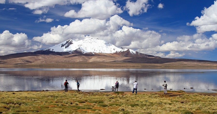 Parque Nacional Lauca no Chile