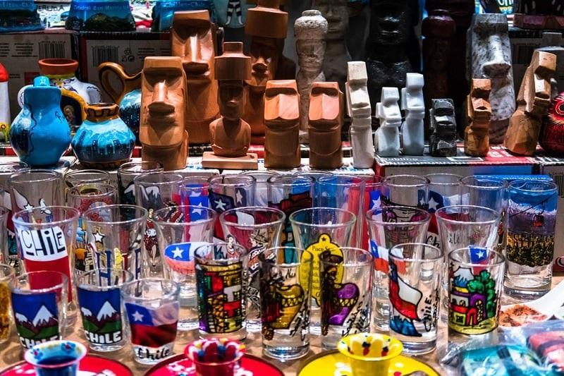 Souvenirs e lembrancinhas - Santiago do Chile