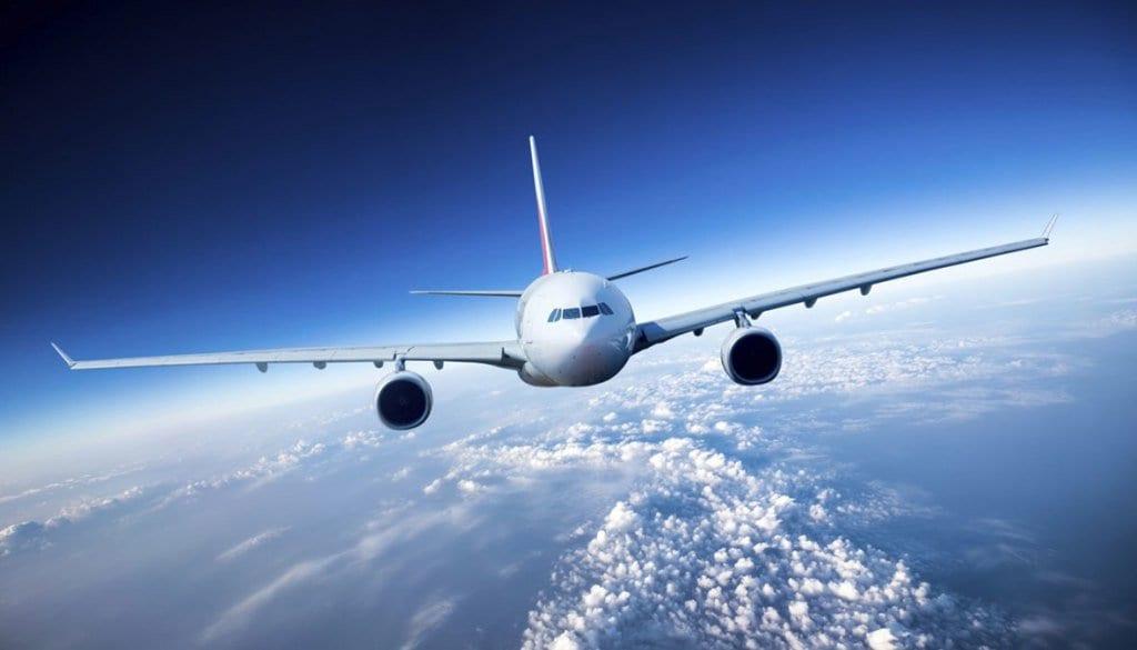 Tempo de avião até Santiago do Chile