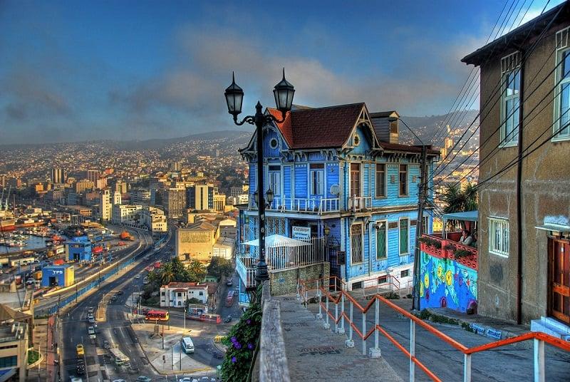 Passeio para Valparaíso no inverno em Viña del Mar