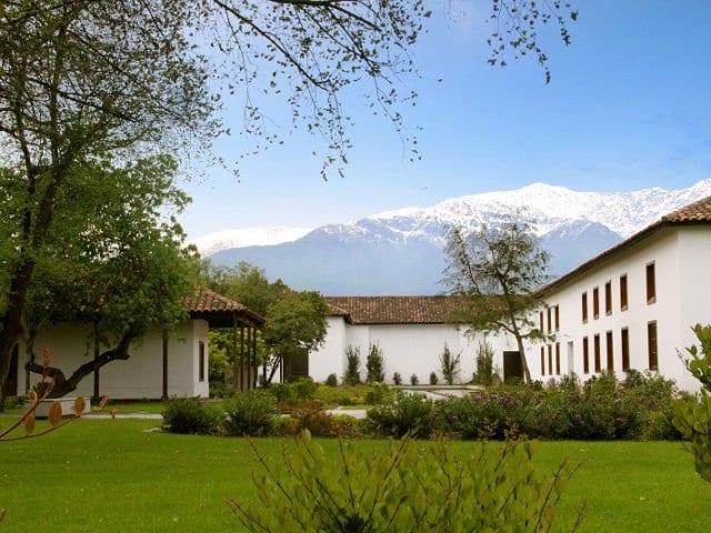Vinícola Santa Carolina em Santiago do Chile
