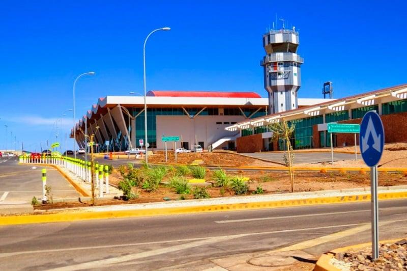 Como ir do Aeroporto El Loa até o centro turístico de San Pedro de Atacama