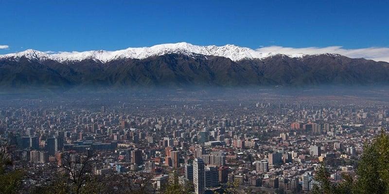 Clima em Santiago no mês de novembro