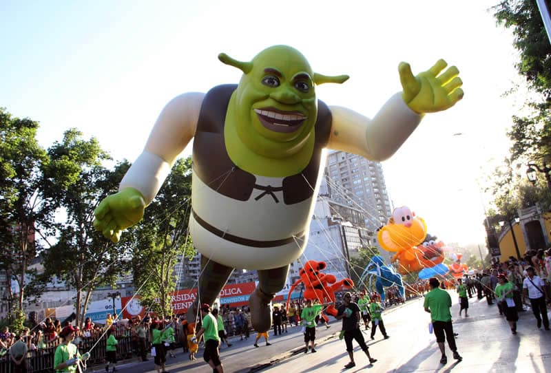 Paris Parade em Santiago no mês de dezembro