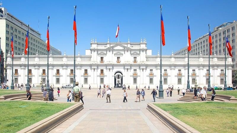 Conhecer o Palácio La Moneda em Santiago no mês de setembro