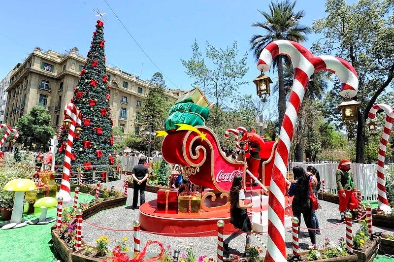 Natal em Santiago do Chile