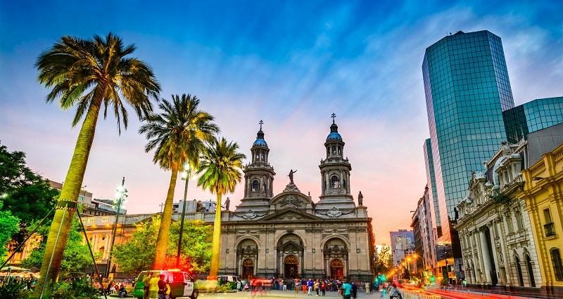 Santiago do Chile em janeiro