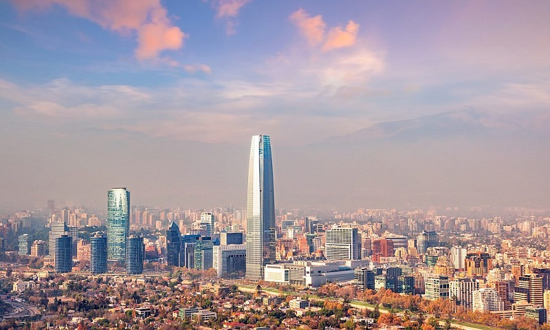 Santiago do Chile ensolarada