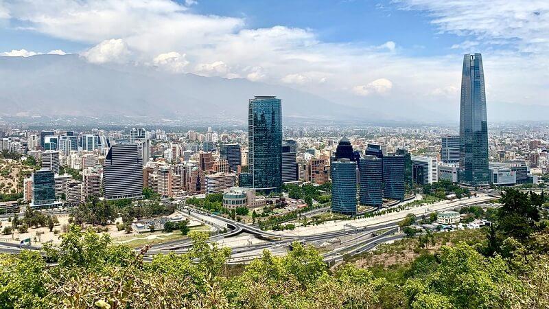 Verão em Santiago do Chile