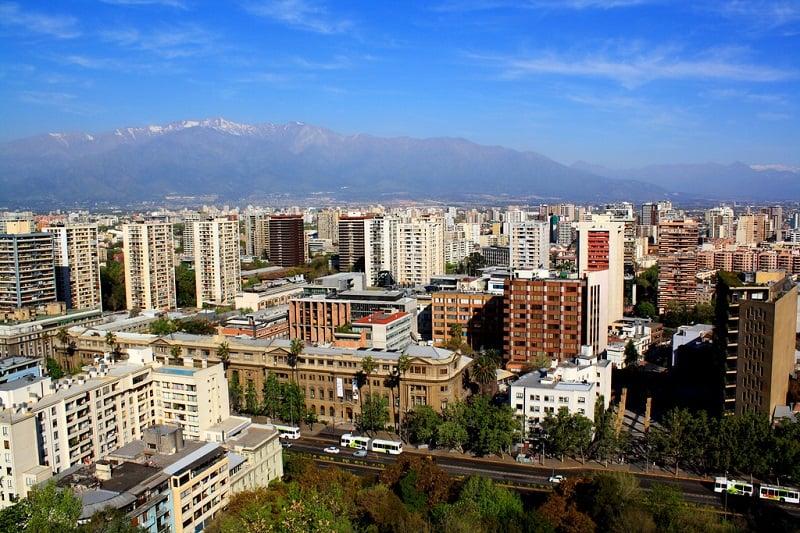 Visitar o Cerro Santa Lucía em Santiago no mês de abril
