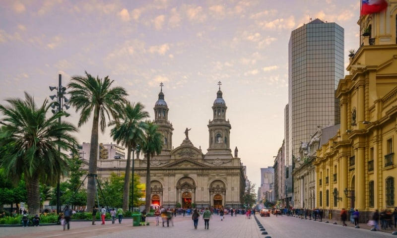 Excursão e City Tour em Santiago do Chile
