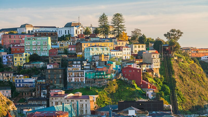 Como é a excursão até Valparaíso e Viña del Mar