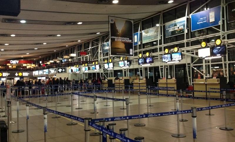 Aeroporto de Santiago - Interior