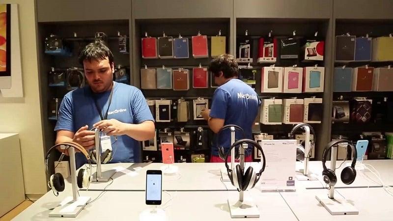 Compras de eletrônicos no Chile
