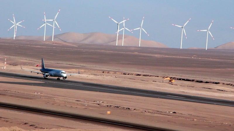 Companhias aéreas e destinos do aeroporto de San Pedro de Atacama