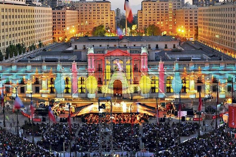 O que fazer no natal em Santiago