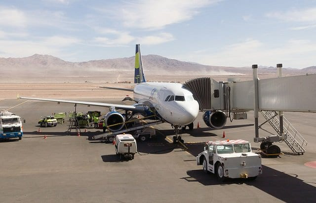 Aeroporto em San Pedro de Atacama
