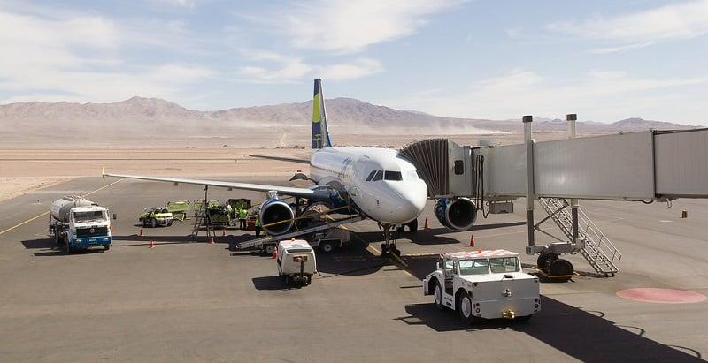 Sobre o Aeroporto de San Pedro de Atacama