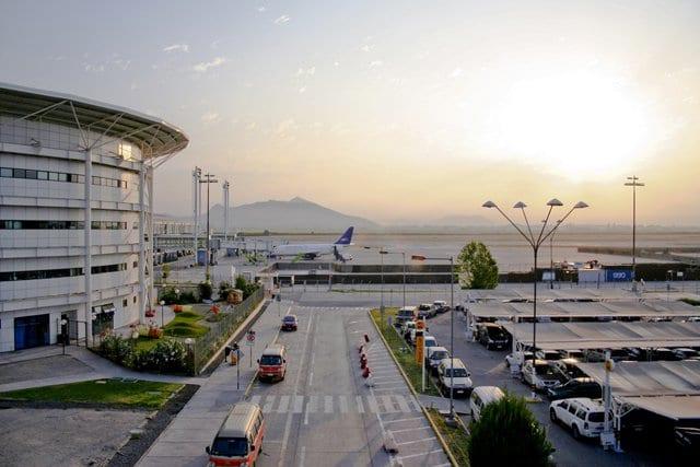 Aeroporto em Santiago do Chile
