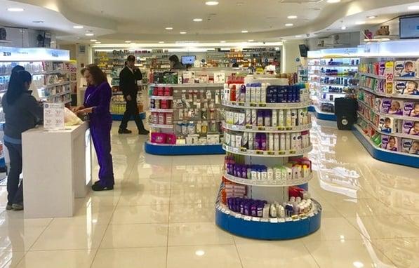 Onde comprar maquiagens em Valparaíso: farmácia