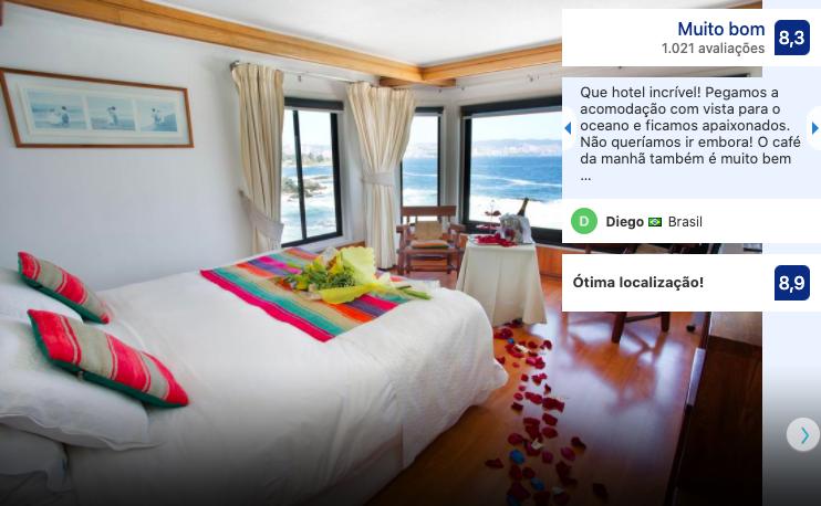 Hotel Oceanic em Viña del Mar