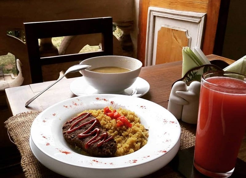 Restaurante vegano Arvoleda