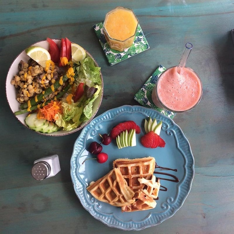 Restaurante vegetariano Café Bali
