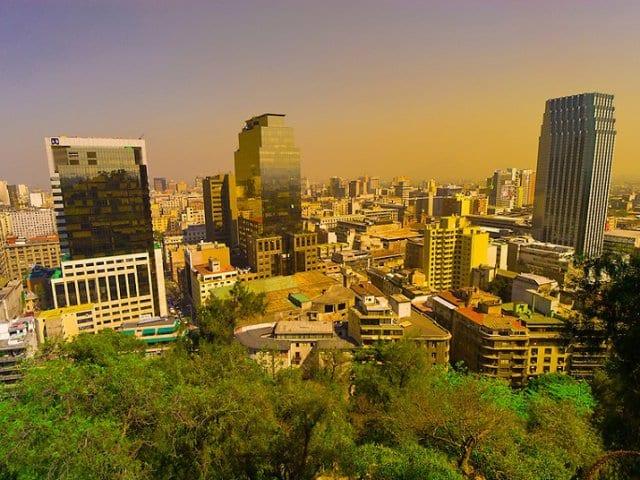 Como andar e se locomover em Santiago do Chile