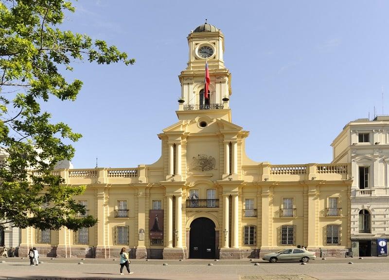 Museu Histórico Nacional em Santiago do Chile