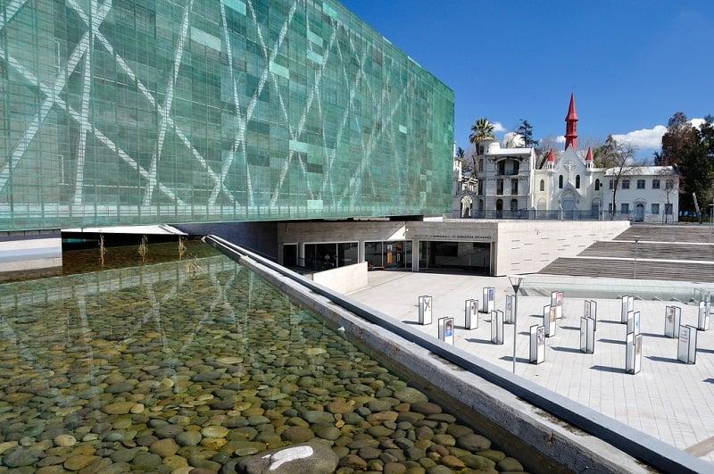 Museu da Memória e dos Direitos Humanos em Santiago do Chile