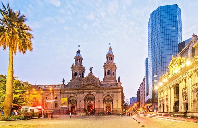 Passeios gratuitos em Santiago do Chile