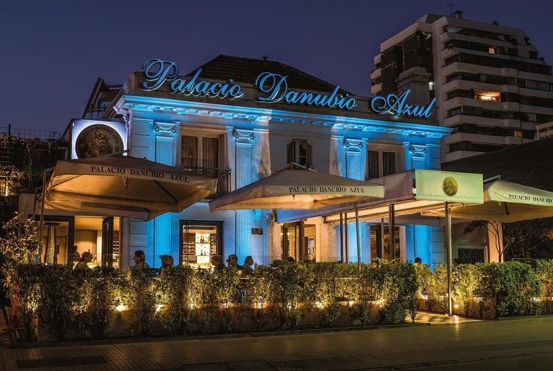 Restaurante Palacio Danubio Azul