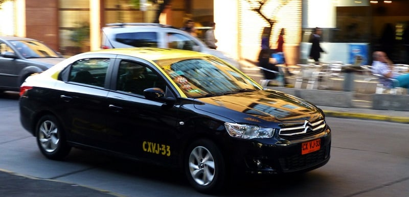Táxi no Chile