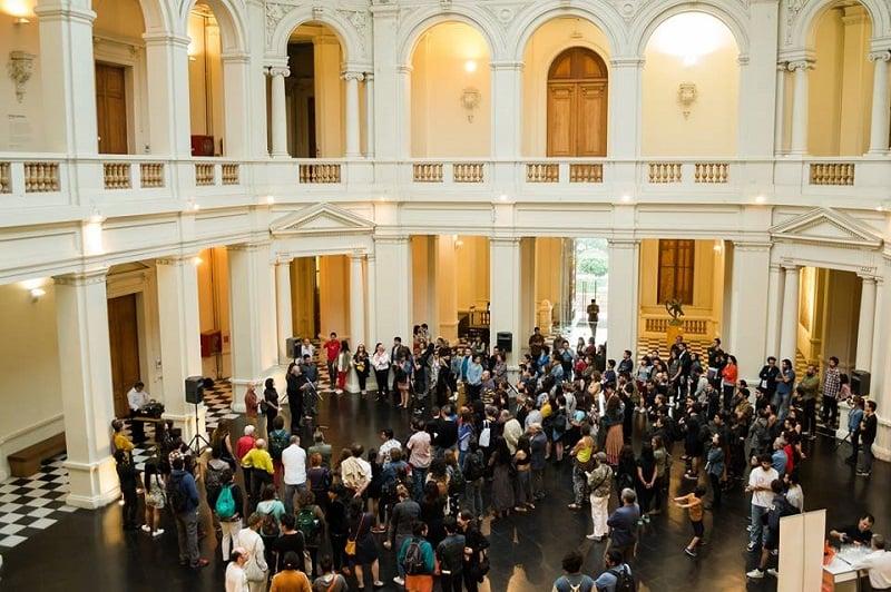 Museu de Arte Contemporânea em Santiago do Chile