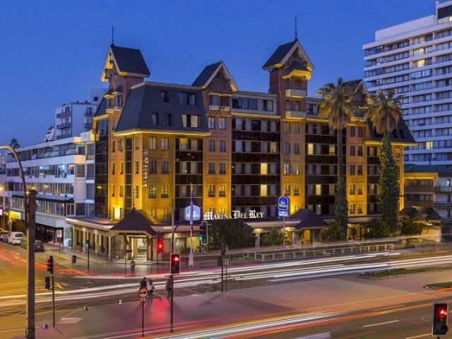 Hotéis no centro turístico de Viña del Mar