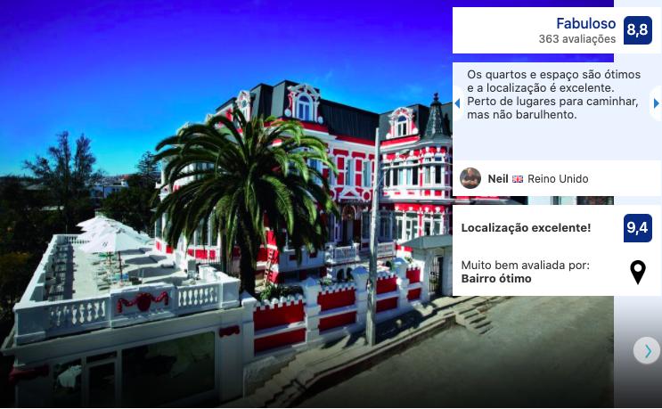 Hotel Palacio Astoreca em Valparaíso