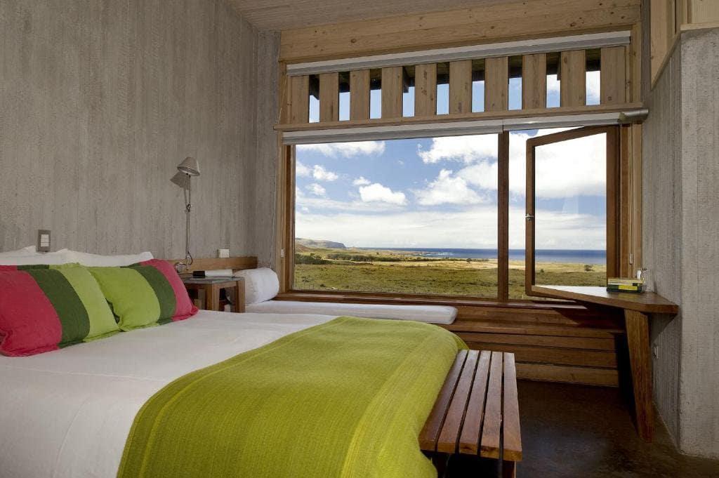 Quarto do Resort Explora Rapa Nui na Ilha de Páscoa