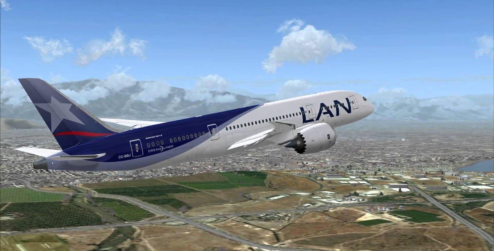 Tempo de avião até Valparaíso