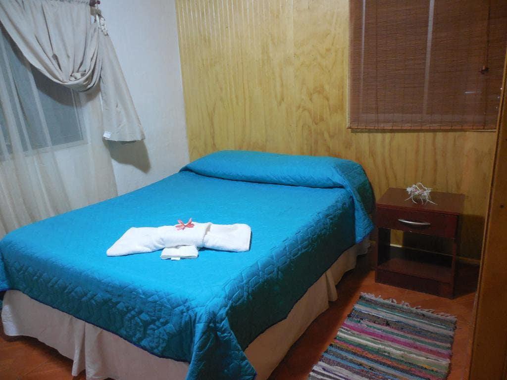 Quarto do Hotel Hare o Ahani na Ilha de Páscoa