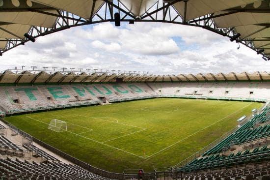 Estádio German Becker de Temuco, no Chile