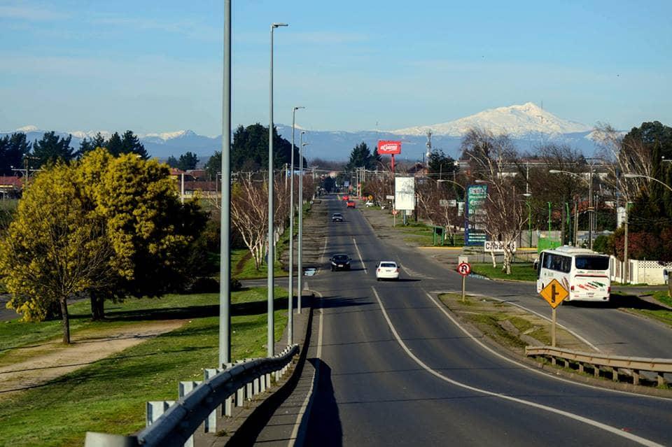 Viagem de carro alugado em Temuco