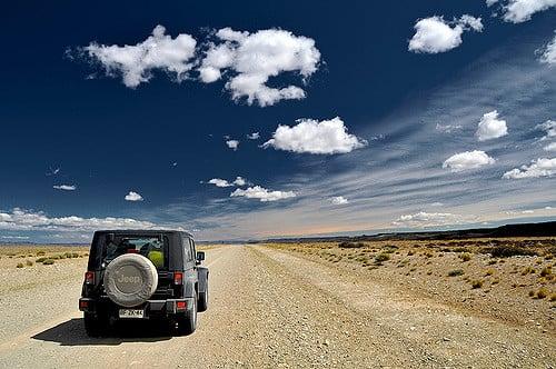 Viagem de carro no Chile