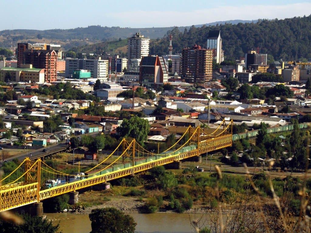 Pontos turísticos em Temuco, no Chile